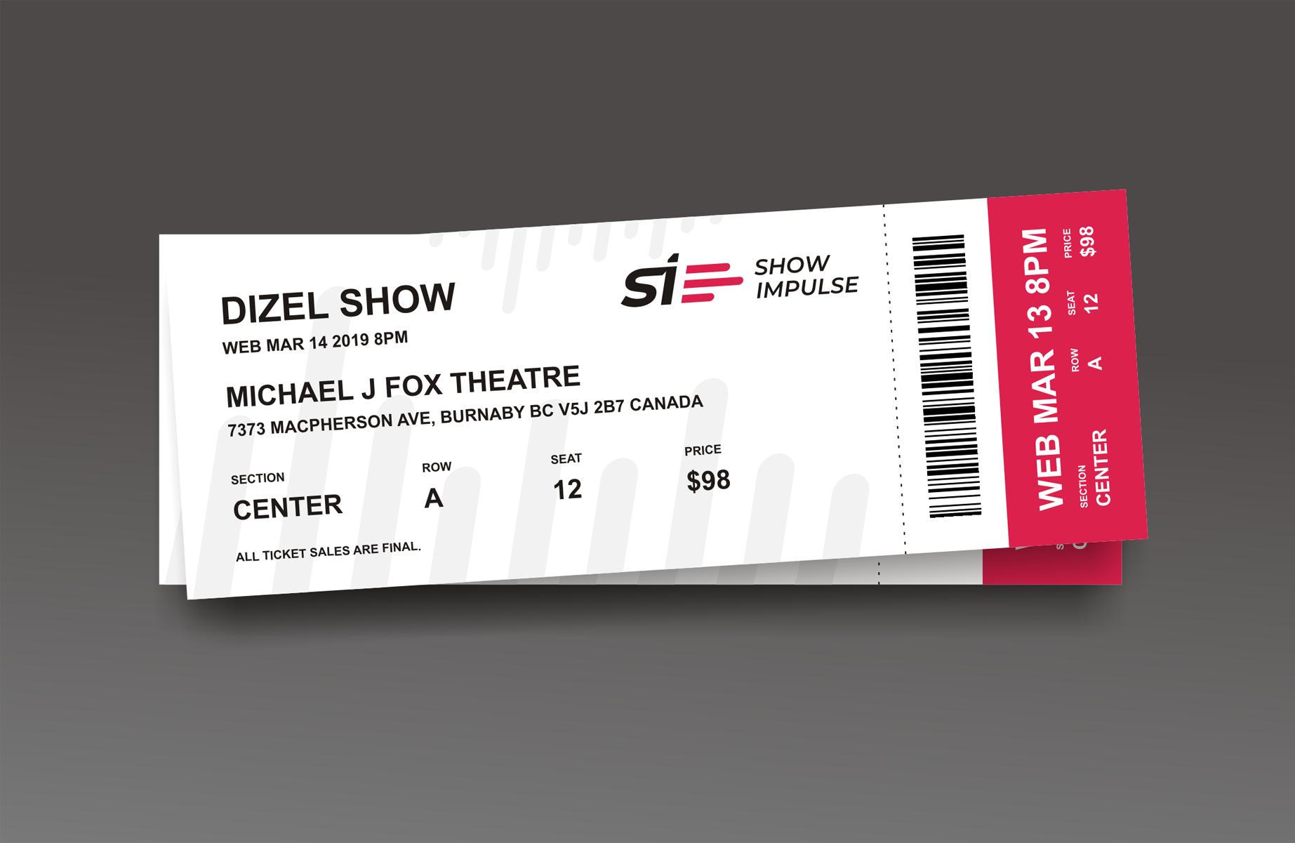 ShowImpulse билет