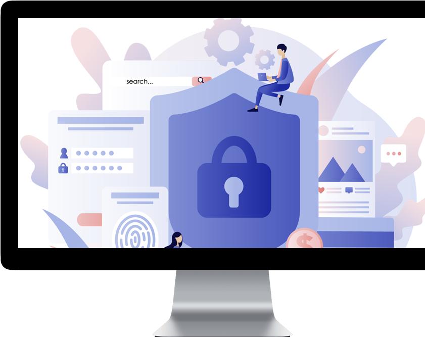 Защита данных с помощью зашифрованных протоколов и логирования